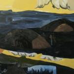 """Convulsive Landscape ... oil on canvas ... 33"""" x 31"""""""